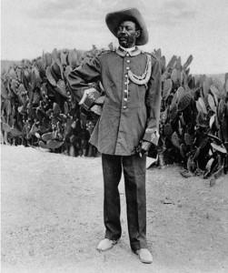 Samuel Mahero führte ab 1904 den Widerstand von Hereo und Nama an.